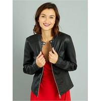 Кожаная куртка Kiabi Франция